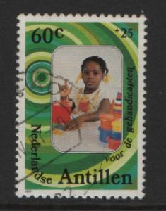 Netherlands Antilles 1981 used  disabled people 60 ct  #