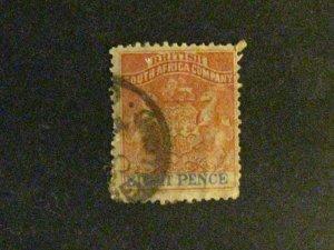 Rhodesia #8 used  a198.9580