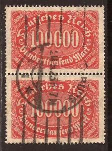 Germany  #  209  used  pair
