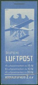 Germany 1931 MH20.2 Luftpost Airmail All Original Stamp Booklet Markenheft 63537