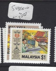 MALAYSIA     (P0801BB)  SG 358-0    MOG