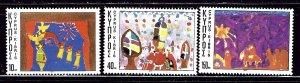 Cyprus 490-92 MNH 1977 Christmas   #2