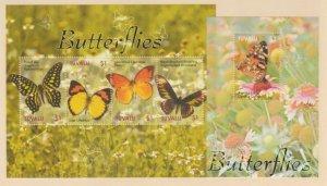 Tuvalu Scott #1023-1024 Stamps - Mint NH Souvenir Sheet Set