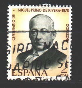 Spain. 1970. 1864. Prime Minister. USED.