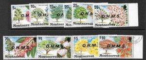 MONTSERRAT SGO7/16 1976 O.H.M.S.OFFICIAS FINE USED
