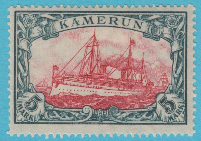 GERMAN COLONIES CAMEROUN 25 MINT HINGED OG  * NO FAULTS EXTRA FINE   !