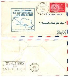 United States, New York, First Flight, Kenya Uganda & Tanganyika