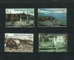 British Antarctic Territory: 2001 Restoration Port Lockroy Base,  MNH set