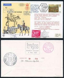 C65c To London by Horse Signed by Brigadier General Eitan Barak (AA)