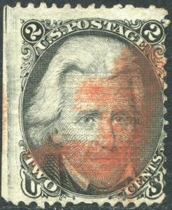 #87 E GRILL WIDE TOP, LEFT MARGIN WITH RED CANCEL CV $265.00 BP2032