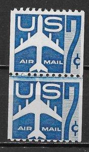 United States, C52, Jet Silhouette Jt.Line Pr,**MNH** (z2)