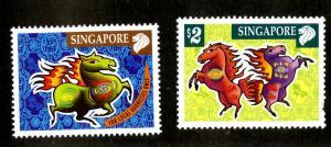 SINGAPORE 999-1000 MNH SCV $4.00 BIN $2.50