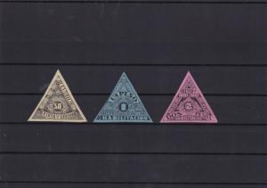 Colombia 1901-02 Revenue  Stamps Ref 15461