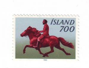 Iceland Sc560 1982 Iceland Pony stamp mint
