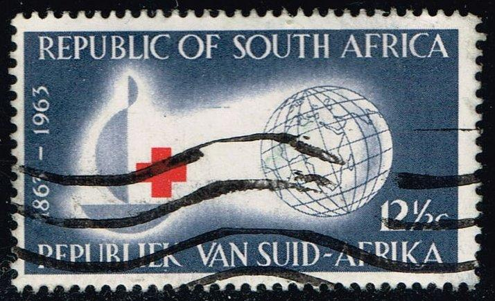 South Africa #286 Red Cross Centenary; Used (1.60)
