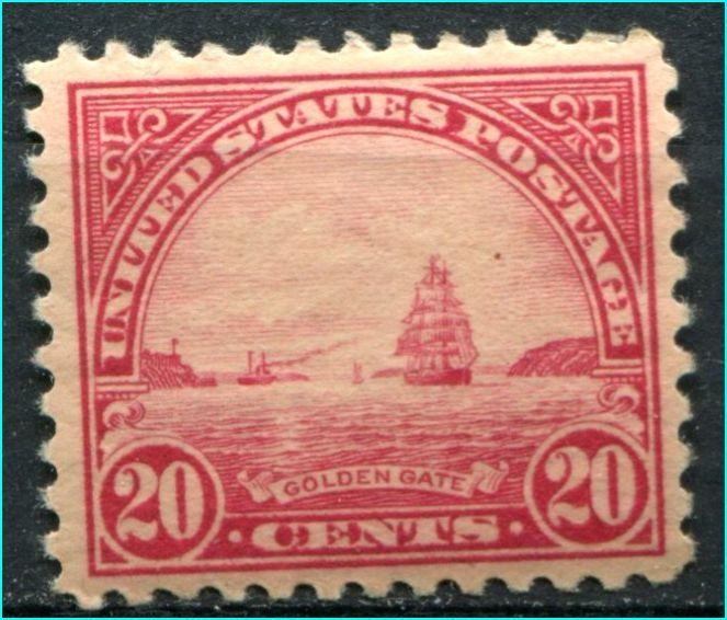 USA #567  Mint Very lightly hinged          ** Free shipping **