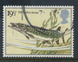 Great Britain SG 1208 - Used - River Fish