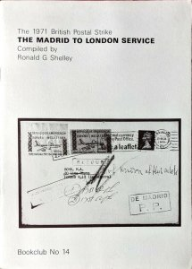 1971 British Postal Strike MADRID to LONDON Servicio de Emergencia España Spain