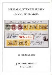 Erhardt: Sale # 26  -  Spezialauktion Konigreich Preussen...