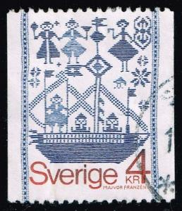 Sweden #1276 Drill-Weave Tapestry; Used at Wholesale