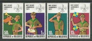 1972 Maldive Islands Boy Scouts World Jamboree