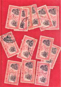 NEW ZEALAND SC# 230  LOT OF 12+  SEE SCAN