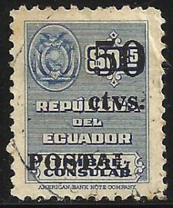 Ecuador 1951 Scott# 551 Used