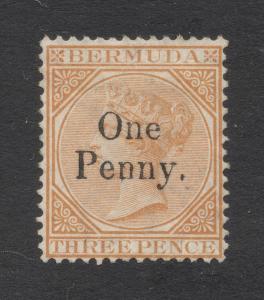 Bermuda #14 - Unused - PF Cert.- Cat. $550.00