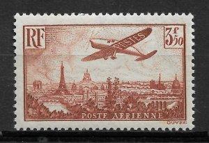 France 1936, Airmail, 3.50fr Scott # C13,VF MLH*OG (RN-5)
