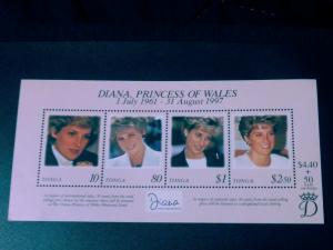 Tonga #980 Princess Diana of Wales MNH SUP