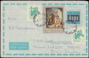 Poland, Postal Stationery, Flowers