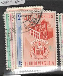 Venezuela Arms SC 562-6 VFU (6dwh)