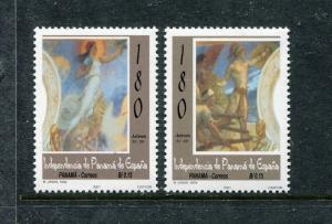 Panama 895-896, MNH, 2002 Independence from Spain. x26681