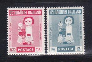 Thailand 412-413 Set MNH Childrens Day (B)