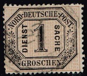 GERMANY STAMP Goldhahn Norddeutscher used stamp