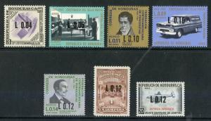 HONDURAS C473-C478 MNH SCV $2.15 BIN $1.25 POSTAL FACILITY AND DELIVERY
