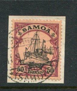 Samoa (German) #64 Used