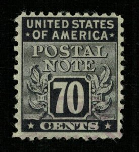 1945 USA Postal Note Stamps 70c (TS-375)
