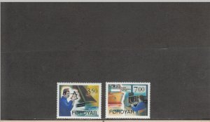 FAROE ISLANDS 268-269 MNH 2014 SCOTT CATALOGUE VALUE $3.50