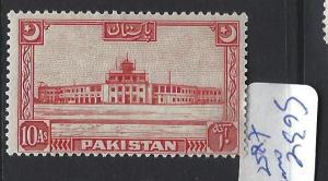 PAKISTAN    (P2502B)  10A  SG 34  MOG