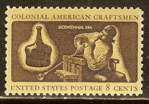 1456 Colonial American Craftsman F-VF MNH single