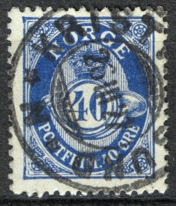 Norway 1920-29, NK 125 sw Kristiansund N 26-III-27 (MR)