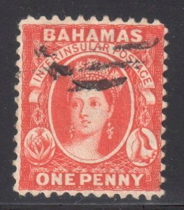 Bahamas #5 USED - In perfect condition