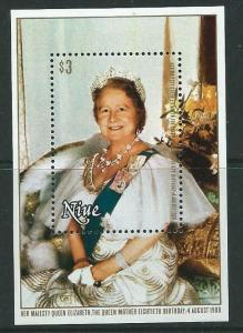 NIUE SGMS365 1980 QUEEN MOTHER MNH
