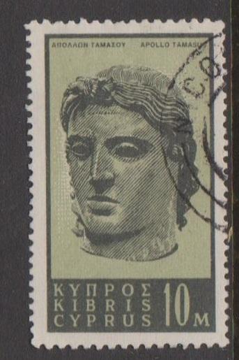 Cyprus Sc#208 Used
