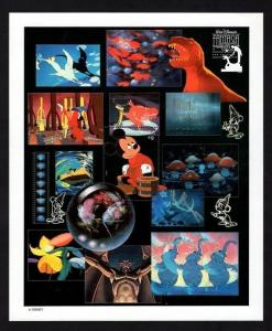 GRENADA - 1991 - DISNEY - MICKEY - FANTASIA - SORCERER - NUTCRACKER + MNH SHEET!
