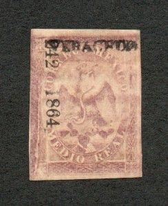 Mexico - Sc# 20 MH / Type III      -        Lot 0721188