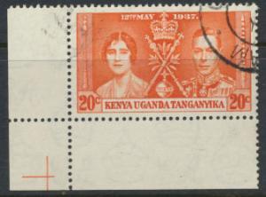 Kenya Uganda Tanganyika KUT - Used SG 129 SC#61 Coronation see details