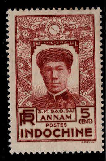 French Indo-China Scott 174 MH* stamp