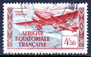 French Equatorial Africa - #C5 - Used - SCV $0.80
